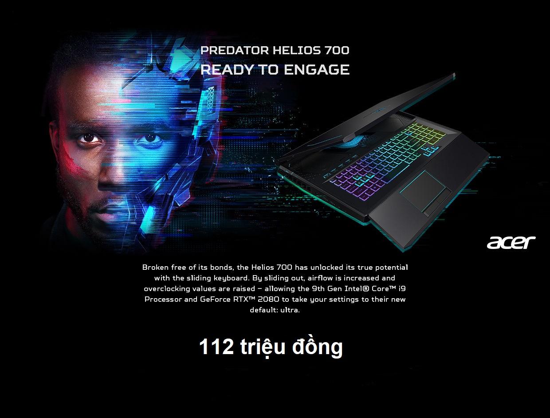 máy tính chơi game Acer Predator Helios 700