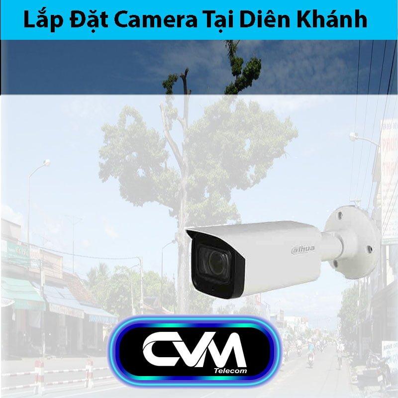 Lắp đặt camera tại Diên Khánh