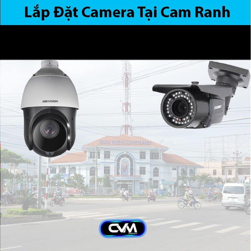 Lắp đặt camera tại Cam Ranh