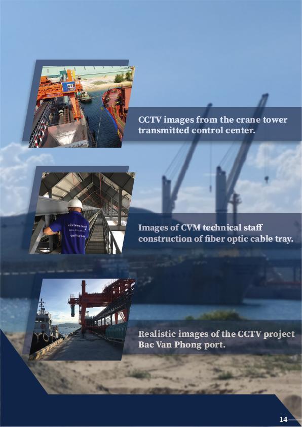 Hệ Thống CCTV Cảng Bắc Văn Phong CVM