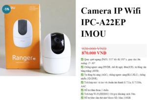 Mẫu camera an ninh
