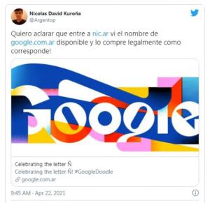 Tên miền Google