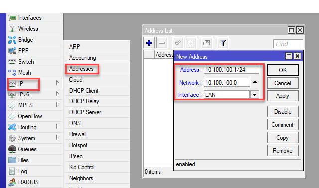 hướng dẫn cấu hình mikcrotik bằng phần mềm WinBox b3