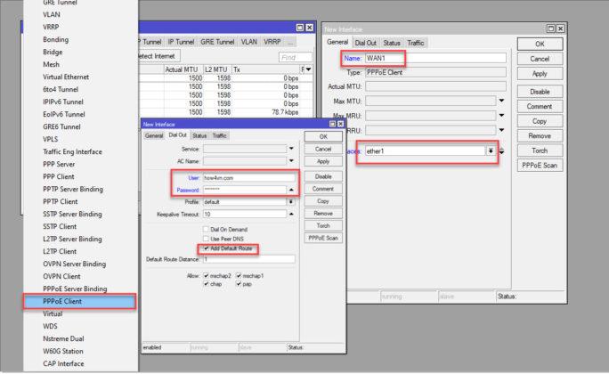 hướng dẫn cấu hình mikcrotik bằng phần mềm WinBox b4 c1