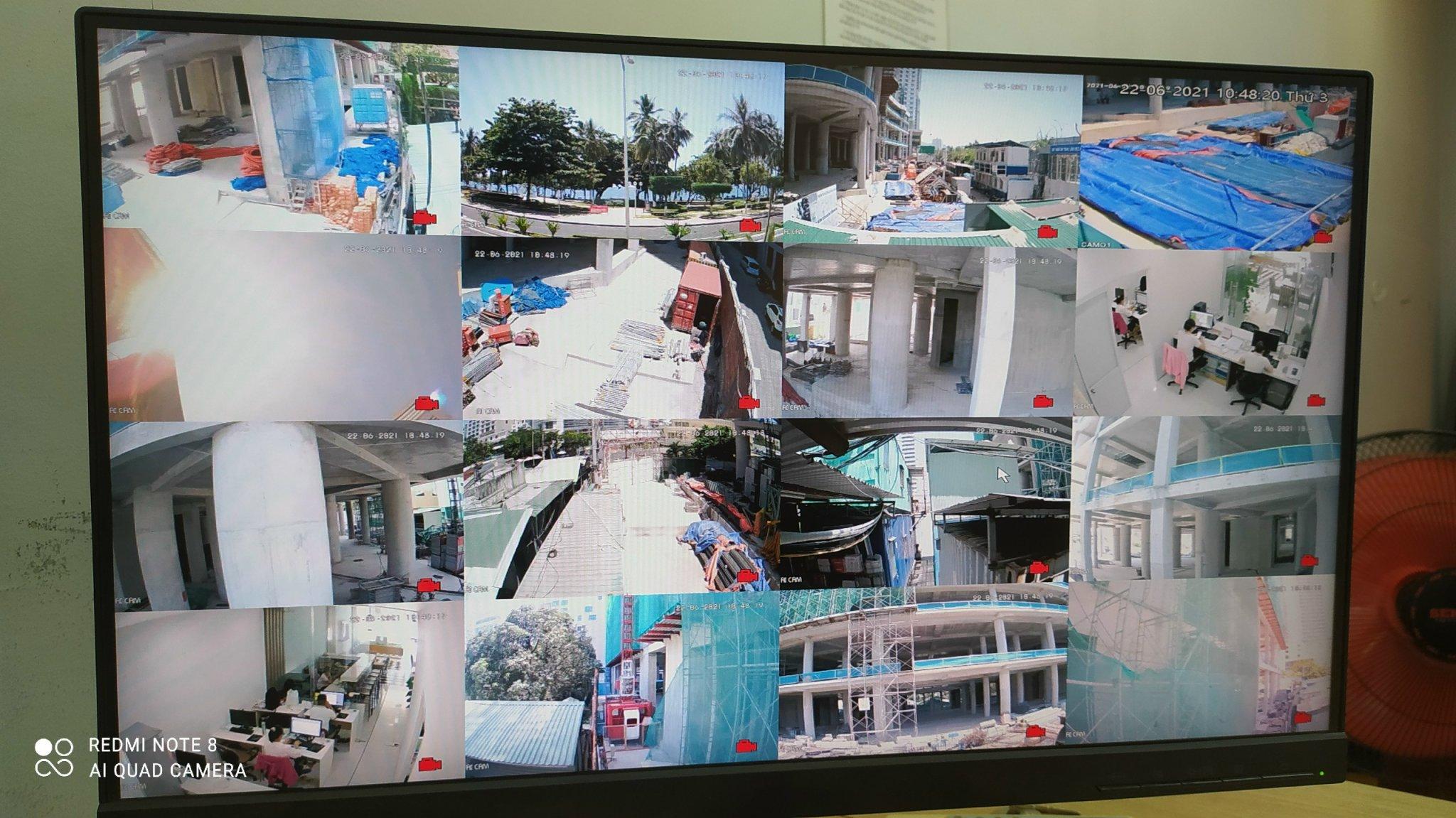 hệ thống camera của tropicana